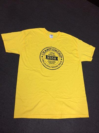 NSSA オリジナルTシャツ