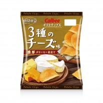 カルビー 3種のチーズ味