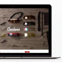 クーレンズWEBサイト