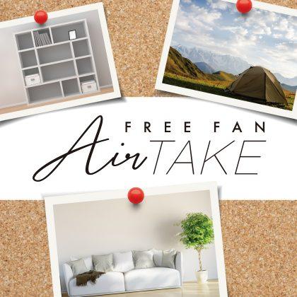 山善 FREE FAN Air take